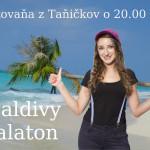 Maldivy a Balaton