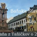 Baňska Šťavnic'a a Italija