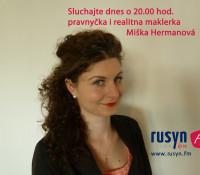 Miška Hermanova 26. 5. 2015