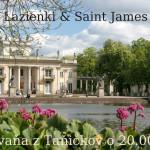 Park Lazienki & Saint James park