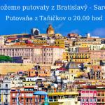 De možeme putovaty z Bratislavŷ – Sardinija