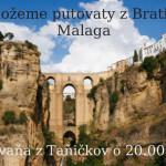 Malaga – De možeme putovaty z Bratislavŷ