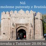 Niš – De možeme putovaty z Bratislavŷ