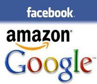 Строгішы крокы проти фірмам Google, Amazon іFacebook