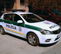 Поліцайны контролі на кошыцькых дорогах