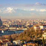 Perše holovne misto Italiji bŷv Turin