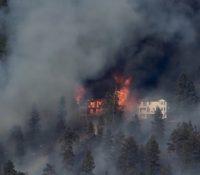 В декотрых окресах Каліфорнії є выголошеный став катастрофы