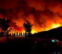Сухый вітер і великы спраготы обновили лїсны пожары в Портуґалску