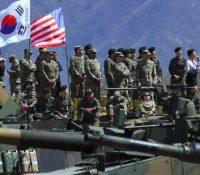 Зачали маневры в Южній Кореї