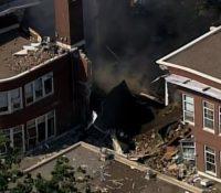 Выбух школы в Мінеаполісі