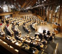 Шкотьскый парламент терчом гекерів