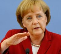 Анґела Меркелова і Владімір Путін дебатували о Сірії