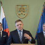 Robert Fico Andrej Danko Béla Bugár