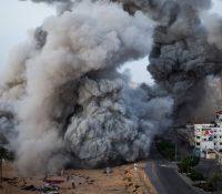 Ізраел днес атаковав палестинску часть Ґазы