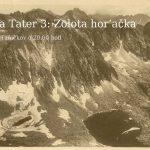 Istorija Tater 3: Zolota hor'ačka