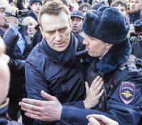 Російска поліція затримала Алехея Навального і дальшых 68 особ