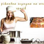 Jemno pikantna svynyna na serbskŷj sposob