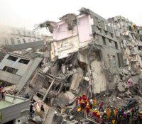 По силнім землетрясїню на Тайванї глядають незвестных