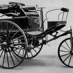 Perše avto vŷrobyv Karl Benz v roci 1885