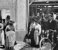 Peršŷj film na sviťi promitaly v roci 1895