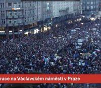 В Празі демонштровали проти влады Бабіша