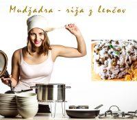 Mudžadra – riža z lenčov