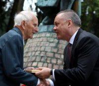 Андрей Кіска брав участь на ославах Дня перемогы над фашізмом в Макові