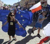 У Варшаві одбыла ся демонштрація