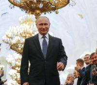 Путін зложыв презідентьску присягу