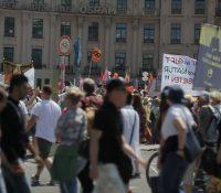 В Мніхові ся одбыла велика демонштрація