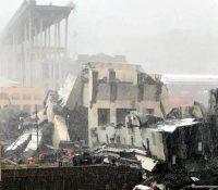 В Янові ся звалив міст, 26 мертвых
