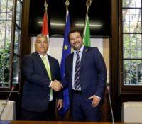 В Мілані ся одбыв протест і против Орбанові