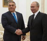 Віктор Орбан на навштіві в Москві