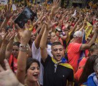 В Барцелоні походовало коло єдного міліона людей