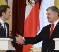 Себастіян Курц в Києві