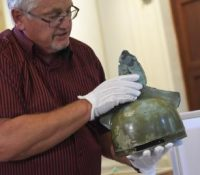 Унікатны 3200 років стары експонаты у Выходословацькім музею