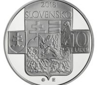 З нагоды 100-го юбілею выникнутя Чехословацькой републікы была выдана зберательска монета