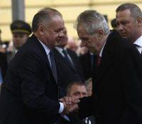 Мілош Земан брав участь на ославах взнику Чехословацькой републикы в Мартіні