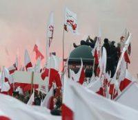 У Варшаві ся вчера одбыли два великы мітінґы