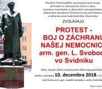 В Свиднику ся одбуде дальшый протест против зрушіню породницького одділіня