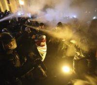 Протесты в Будапешту проти владї Віктора Орбана