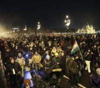 В неділю ся в Будапешті одбыли демонштрації