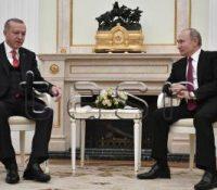 Одбыла ся стріча Путіна з Ердоґаном