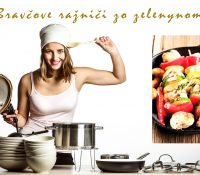 Bravčove ražniči zo zelenynom / Бравчове ражньічі зо зеленином