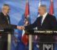 Австрійскый презідент є заступником думкы взнику двох штатів – Ізраїля і Палестины