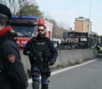 В Італії было 51 учнів унесеных їх школскым автобусом