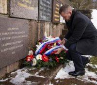 Пеллеґріні одкрыв памятну таблу чехословацькым жертвам