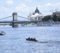 В Будапещі на Дунаї ся потопила туристична шыфа