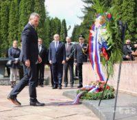 Пелеґріні крітізував Кіску на святкованю 74. выроча скінченя другой світовой войны