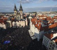 В Празі ся знова демонштровало
